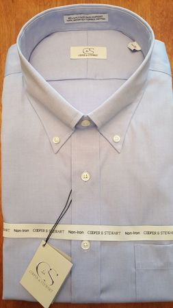 Picture for category Cooper & Stewart Wrinkle Free Shirts (100% Cotton)