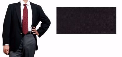 Picture of Blended Blazer With Lycra(Spandex Like) Black