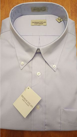 Picture of BUTTON DOWN COLLAR WRINKLE FREE SOLID (3 COLOR OPTIONS)