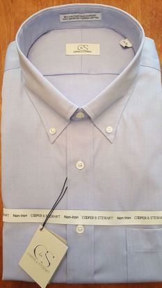 Picture of Button Down Collar Wrinkle Free Solid (4 Color Options)