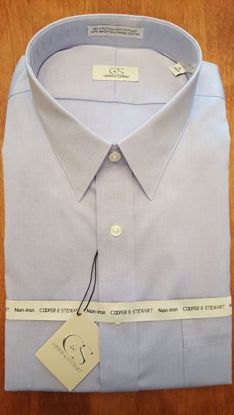 Picture of Spread Collar Wrinkle Free Solid (6 Color Options)