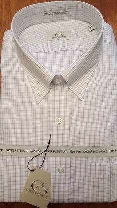Picture of Tattersall Button Down Wrinkle Free