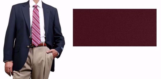 Picture of 100% Textured Polyester - Burgandy