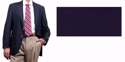Picture of 100% Textured Polyester - Navy