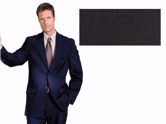 Picture of 52% Poly / 47% Wool / 1% Lycra(Spandex-like) - Charcoal